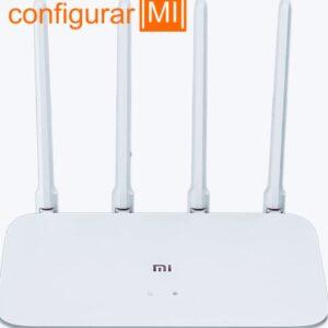 red predeterminada Router Xiaomi 4a