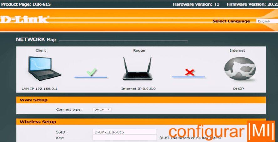 configurar D-Link Router