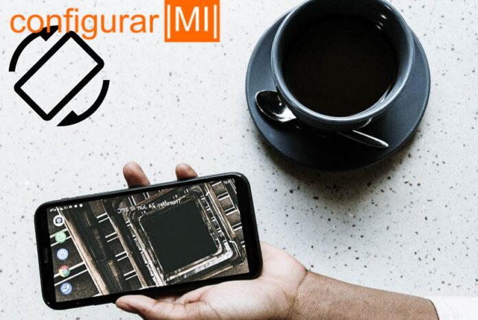 pantalla no gira Android solucion