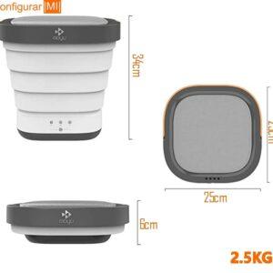 capacidad lavadora plegable xiaomi motu